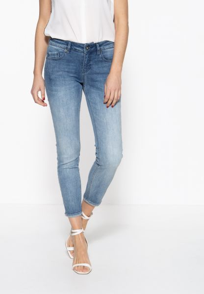 ATT JEANS Damen 5-Pocket Jeans mit legeren Waschungen Leoni