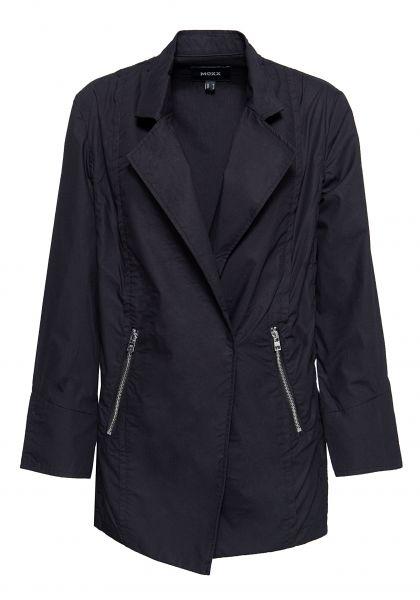 MEXX Leichte Jacke mit asymmetrischem Verschluss