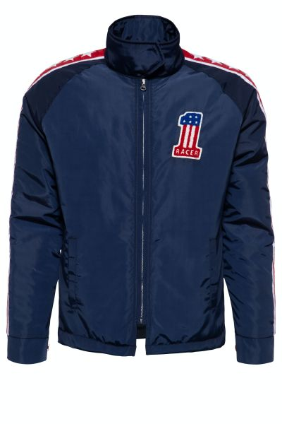 KING KEROSIN Racing Jacket mit separatem Steppfutter Evil Knievel