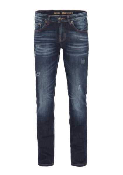 BLUE MONKEY Slim Fit Jeans Paul 4425 Paul 4425