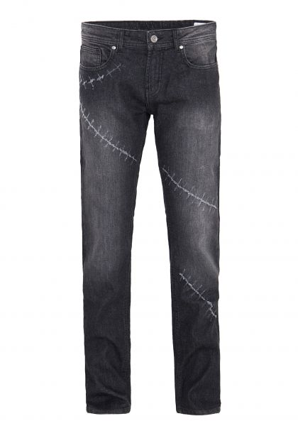 WAY OF GLORY Regular Fit Jeans »Carlos« mit Destroyed Details Carlos