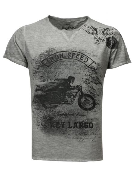 Key Largo T-Shirts MT IRON SPEED