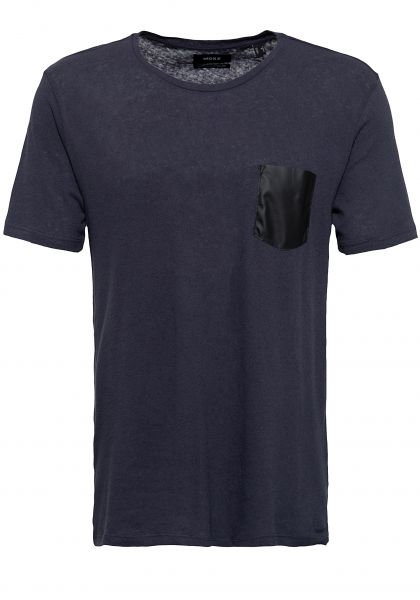 MEXX Shirt mit Kontrast Brusttasche