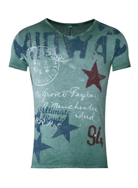 KEY LARGO Herren T-Shirt MT MIDWAY round