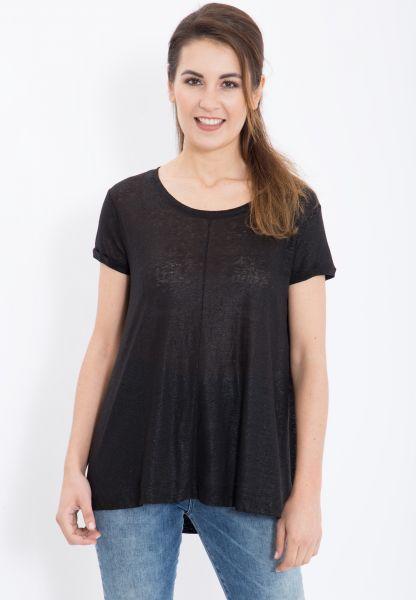 MEXX Oversized Shirt mit glänzendem Schimmer