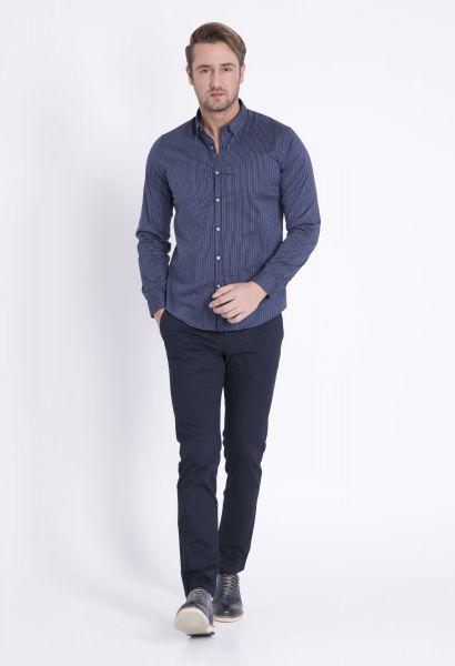LUFIAN Slim Fit Hemd mit Streifenmuster Maseru
