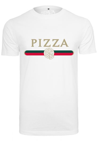 Pizza Slice Tee white L