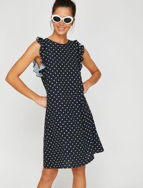 KOTON Kleid mit Flügelärmel