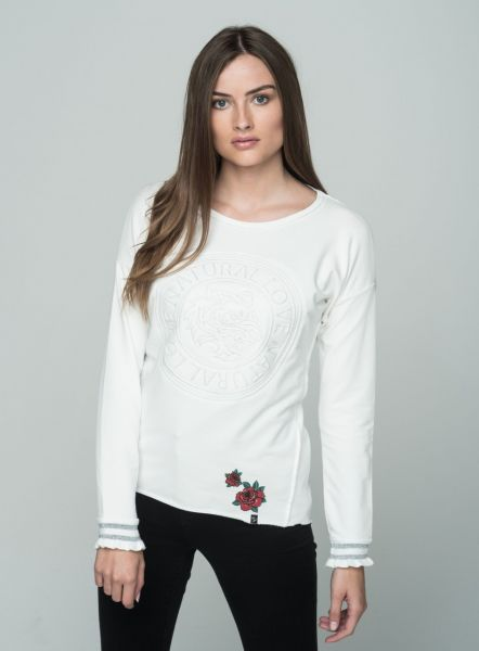 KEY LARGO Damen Sweatshirt & Sweatjacken WSW BOLD round