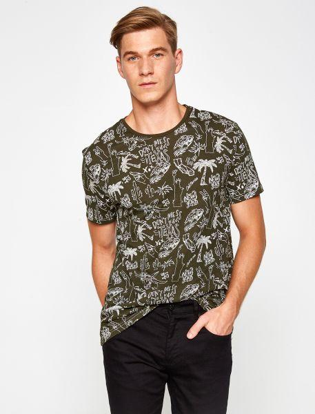 KOTON T-Shirt mit coolem Printmuster