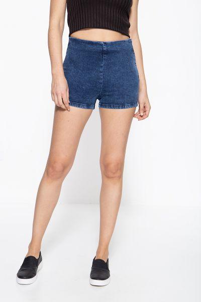 MEXX Jeans Shorts mit nahtverdecktem Reißverschluss