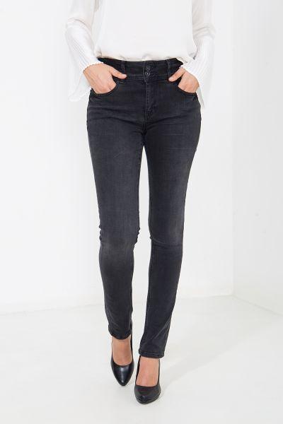 ATT JEANS Super Stretch Jeans mit Knopfverschluss, Slim Fit Chloe