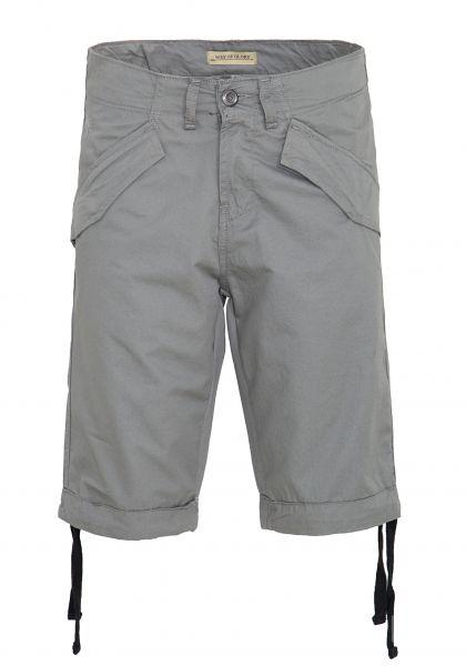 WAY OF GLORY Denim Shorts mit Klappentaschen