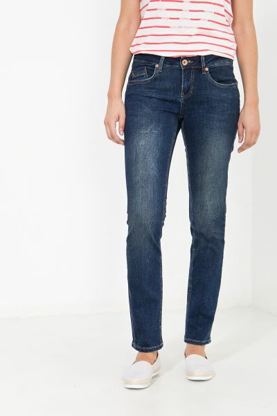 ATT JEANS Gewaschene Slim Fit Jeans gewaschene Optik Belinda