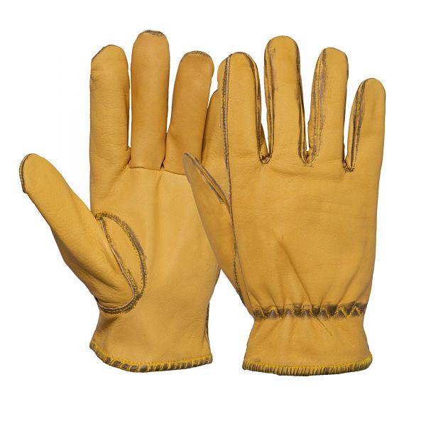 KING KEROSIN Herren Biker-Handschuhe im Vintage-Look