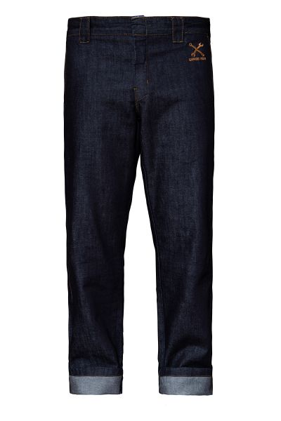 KING KEROSIN Straight Fit Jeans im Workwear-Style