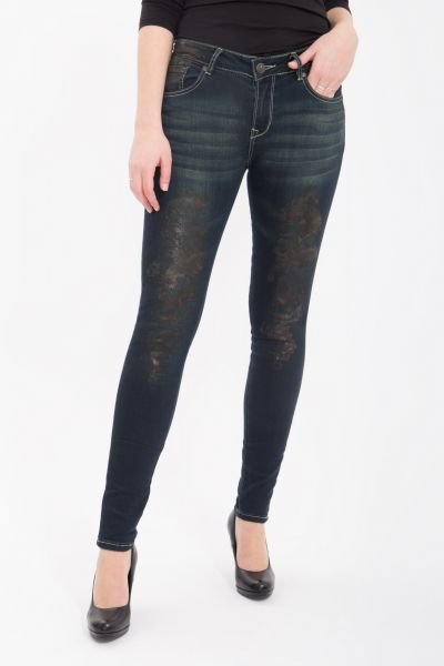 BLUE MONKEY Skinny Jeans Honey 1107 Honey 1107