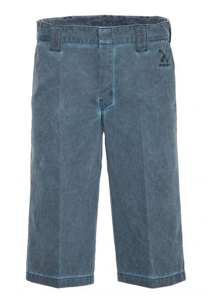 King Kerosin Workwear Shorts in Oil-Washed Optik