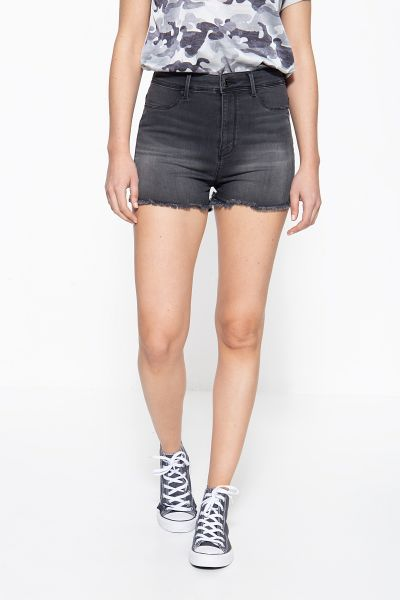 MEXX Jeans Shorts mit offenen Saumkanten