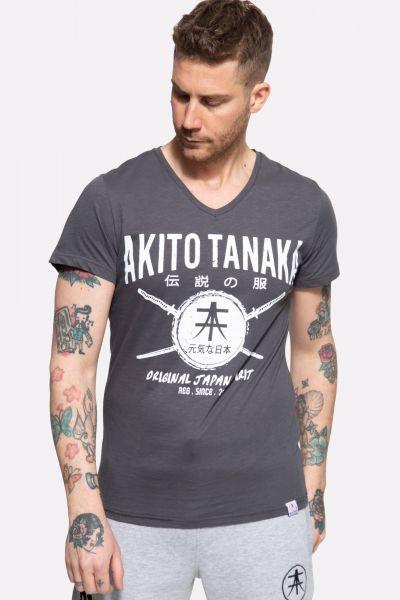 T-Shirt mit Frontprint »Sword Area«