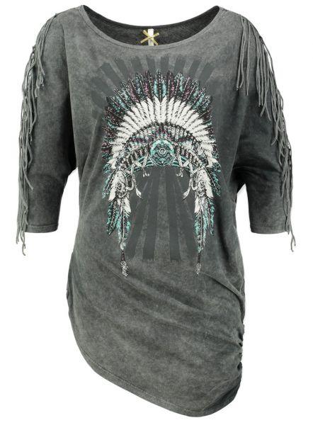 KEY LARGO Damen T-Shirt WT MAGIC round