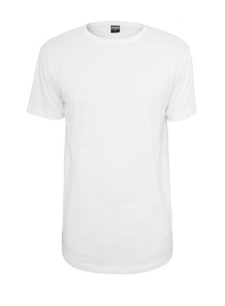 Oversize T-Shirt Urban Classics Shaped Long Tee einfarbig