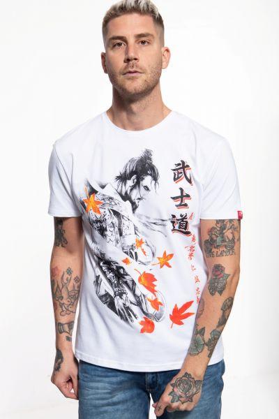 T-Shirt mit Samurai-Print »Samurai«