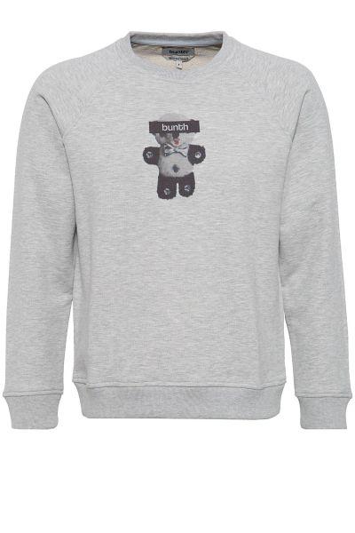 BUNTH Sweatshirt mit Frontdruck