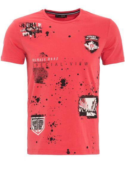 DANIEL DAAF Shirt mit 2-farbigem Front Druck