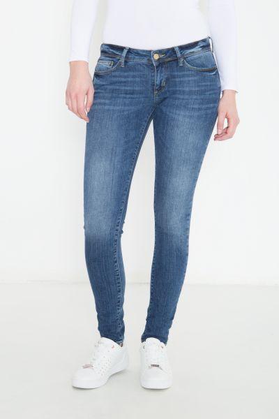 COLINS Slim Fit Jeans mit kontrastierender Waschung Sally