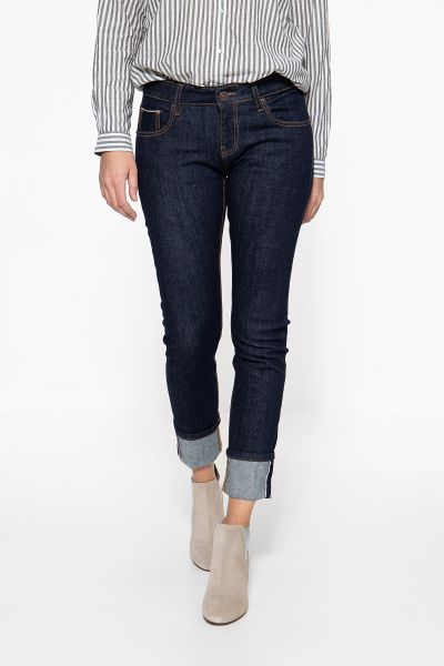 ATT JEANS Slim Fit Jeans Red Selvedge Belinda