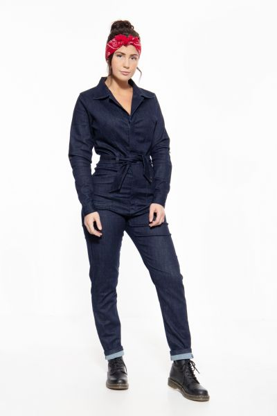 Western Overall aus robustem Jeansgewebe