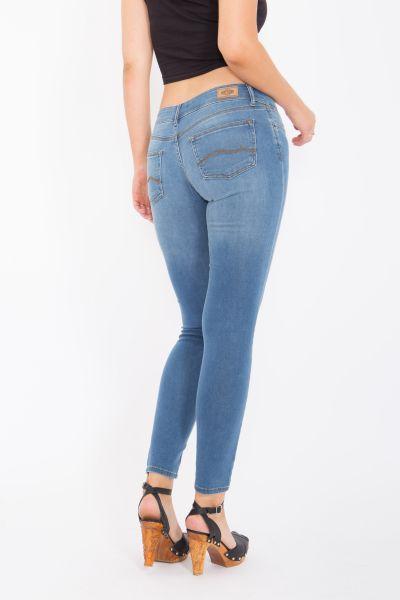 WAY OF GLORY 5-Pocket-Jeans »Jessie« skinny fit & narrow leg - dunkle Waschung Jessie
