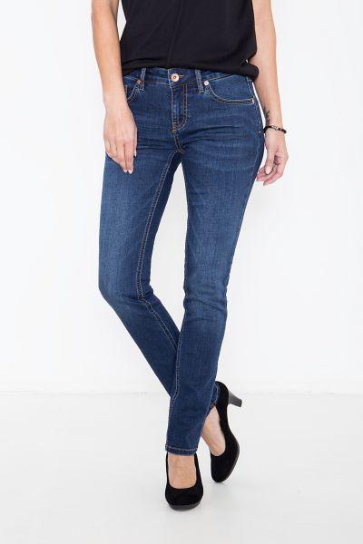 ATT JEANS Basic Slim Fit Jeans in leichter Waschung Belinda