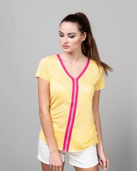 KEY LARGO Damen T-Shirt WT VETO v-neck
