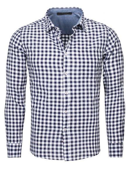 Y-Two Langarm Hemden Karo