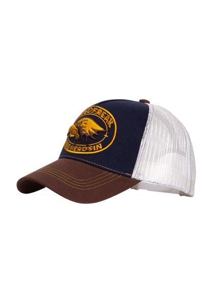 Trucker Cap mit kontrastierender Stickerei »Speedfreak«