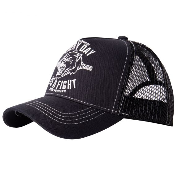 KING KEROSIN Trucker Cap »Every day is a fight« mit Motiv Stickerei Every day is a fight