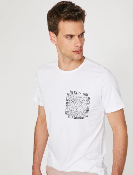 "KOTON T-Shirt ""Think outside the box"""