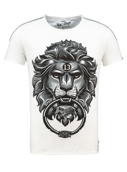 KEY LARGO Herren T-Shirt MT KING round