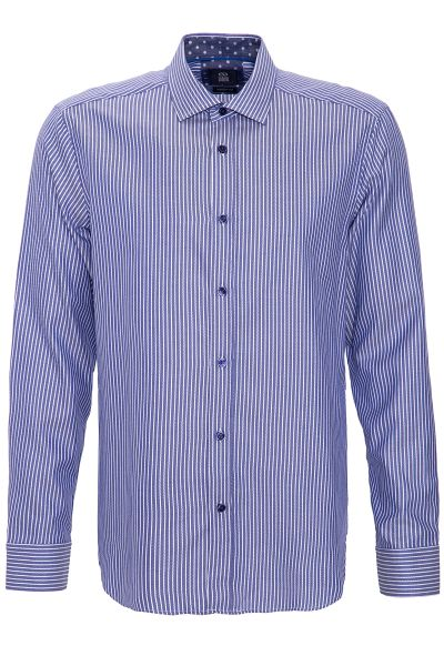 GABANO Langarmhemd mit feinem Streifenmuster