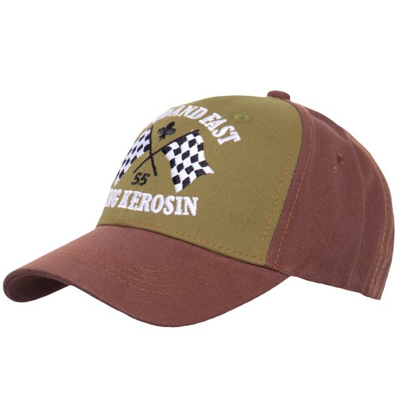 KING KEROSIN Baseball Cap mit Frontstickerei Loud and Fast