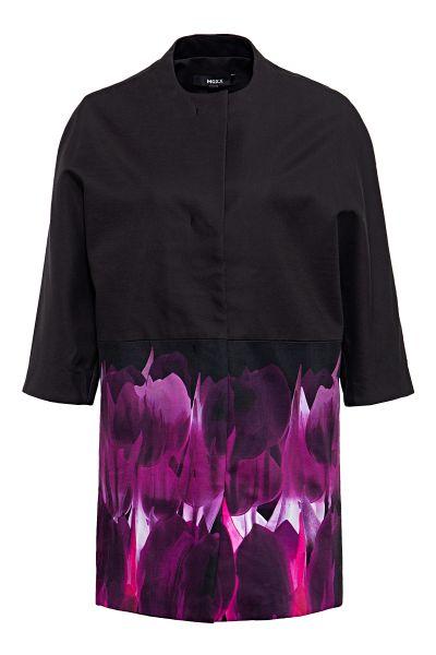 MEXX Langjacke in Kimono-Optik