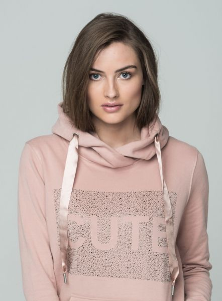 KEY LARGO Damen Sweatshirt & Sweatjacken WSW CUTE hood