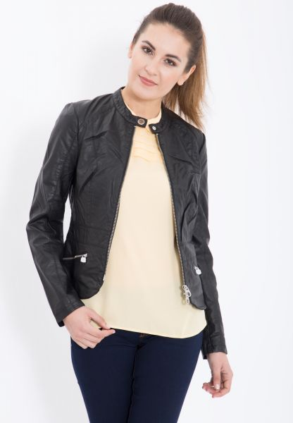 MEXX Bikerjacke in Leder-Optik