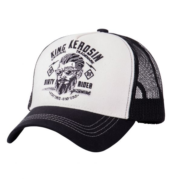 KING KEROSIN Trucker Cap mit Stickmotiv Dirty Rider