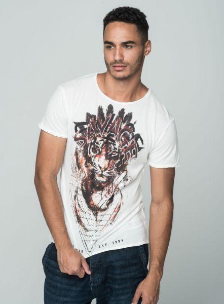 KEY LARGO Herren T-Shirt MT SAVAGE round