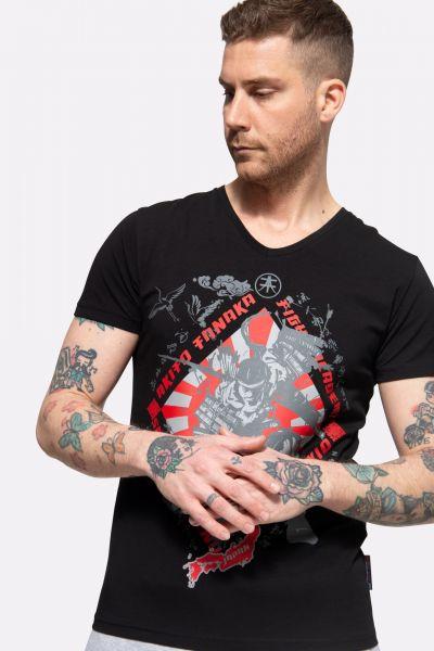 T-Shirt mit Frontprint »Samurai Run«