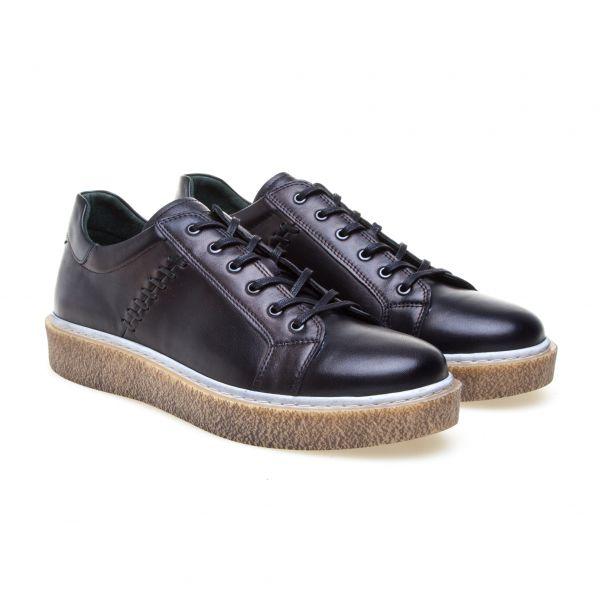GREYDER Sneaker mit Zierstich und Kontrastdetails