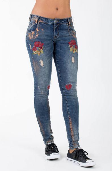BLUE MONKEY Skinny Jeans Honey 8089 Honey 8089